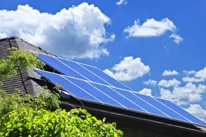 Solar panels on roof - Solar Sun Surfer