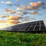 solar panels on cloudy days